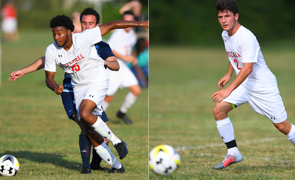 Men's Soccer Duo Honored by NECC