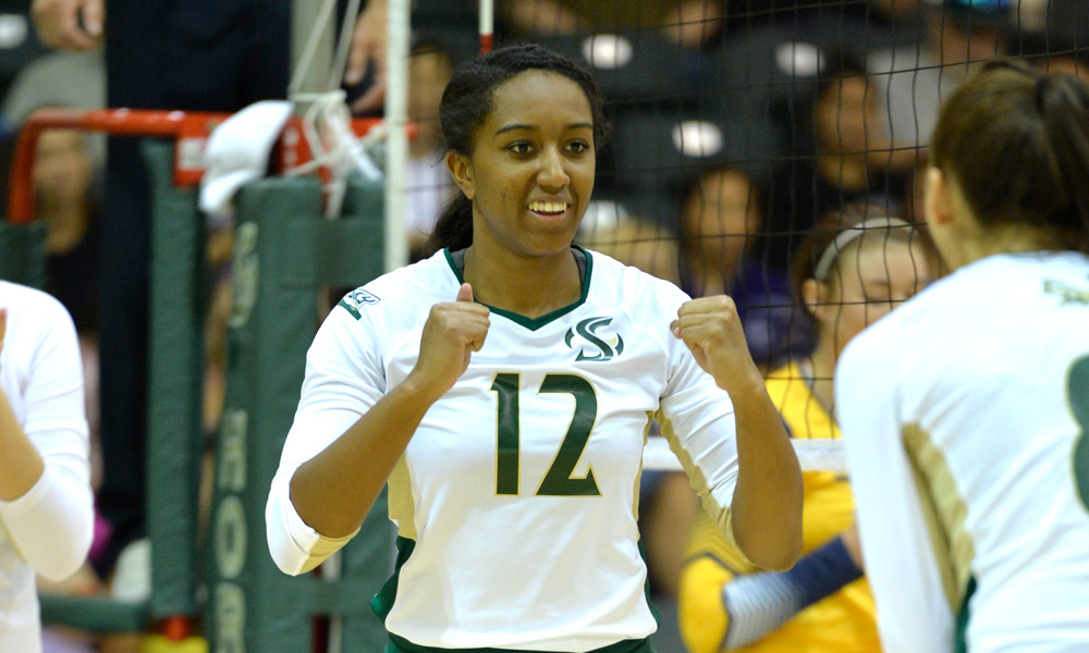 VOLLEYBALL POSTS 10TH STRAIGHT WIN, BEATS EASTERN WASHINGTON ON THE ROAD IN FIVE SETS