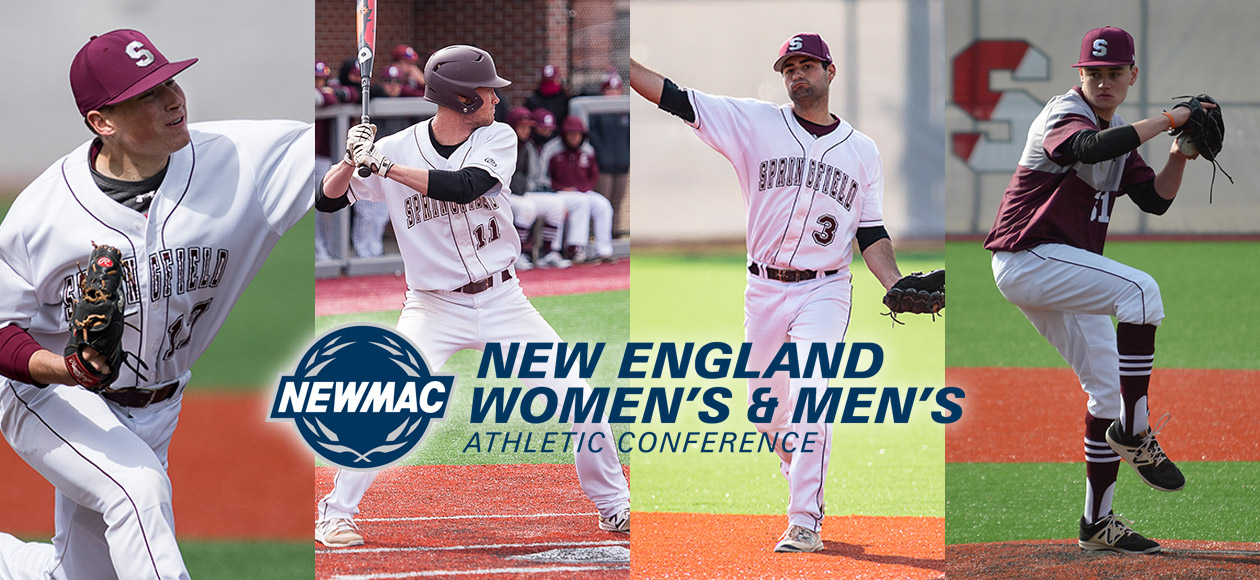 Babineau Named Program's First-Ever NEWMAC Baseball Pitcher of the Year; Four Earn All-Conference Recognition