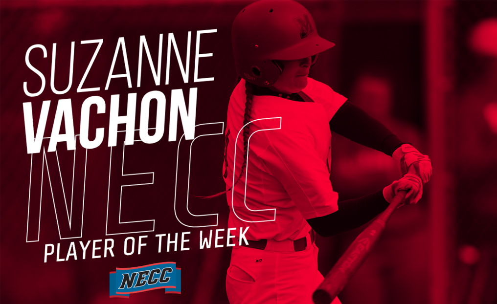Softball's Vachon Tabbed NECC Player of the Week