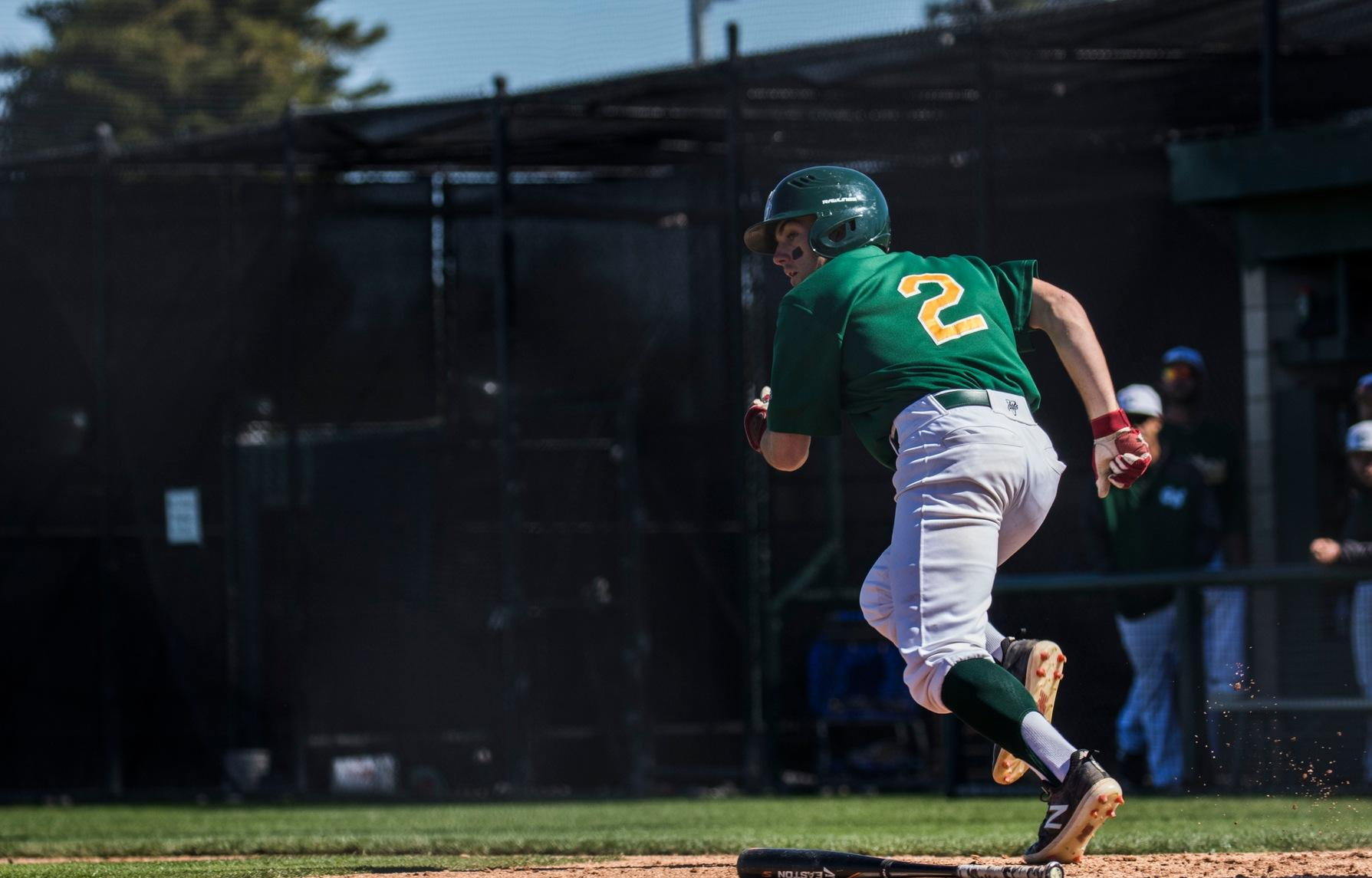 Baseball: Flexes Power with Three Home Runs in Loss