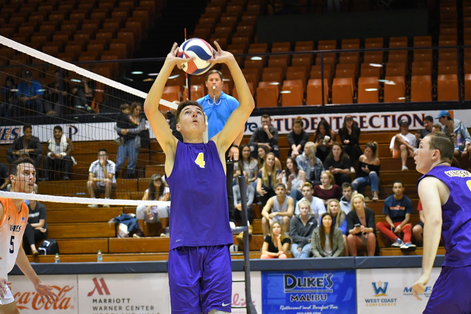 Kingsmen Open Season at Div. I, No. 10 Pepperdine