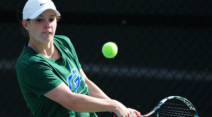 #18 GC Women's Tennis Falls at Young Harris, 6-3