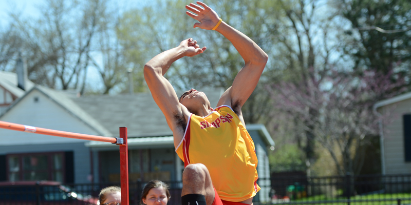 Simpson wins five events, takes second at Wartburg Relays
