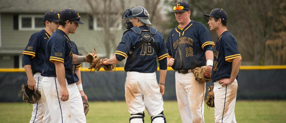 Baseball Loses Midweek Contest at Hanover - Franklin College