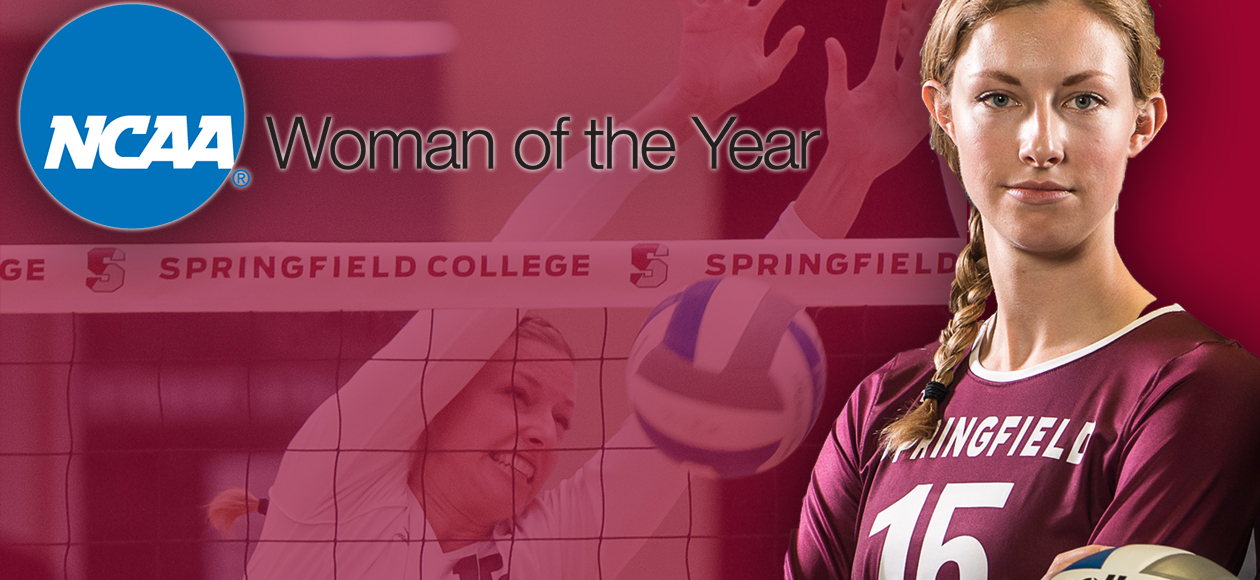 Springfield College's Lauren Holt Named NCAA Woman of the Year Honoree