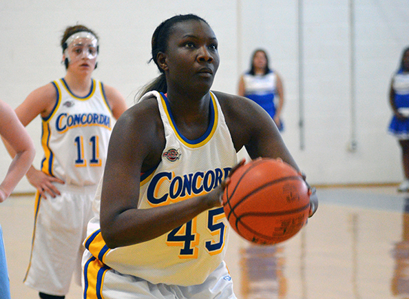 Concordia Women's Basketball Falls to Holy Family, 65-29