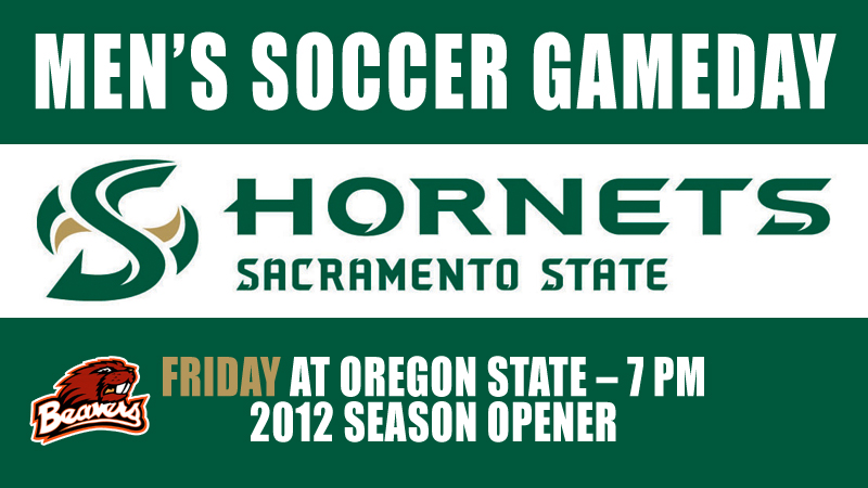 MEN'S SOCCER OPENS 2012 SEASON AT OREGON STATE