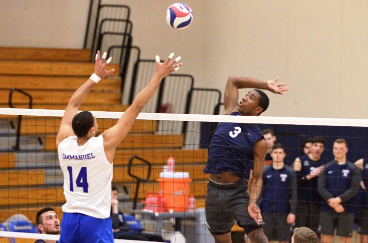 Men's Volleyball: Graham, Raiders remain perfect in GNAC with win over Emmanuel