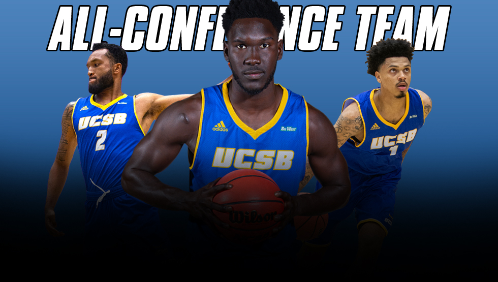 UCSB Trio Honored by Big West Conference