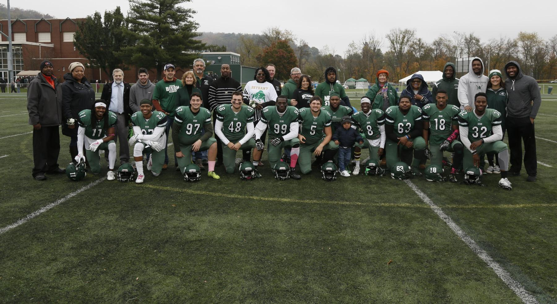 Bison defeated by Thomas More on Senior Day, 21-0