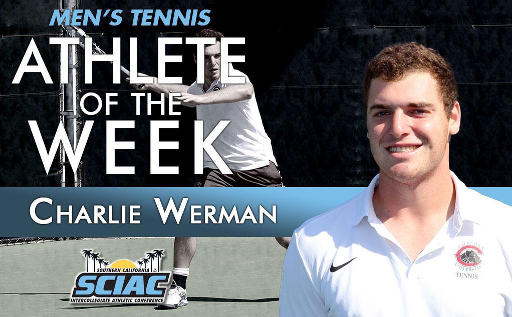 Werman and Mead's upset leads to SCIAC weekly honors