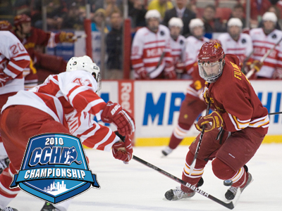 Bulldogs Lose One-Goal Decision To Miami In CCHA Championship Third-Place Game