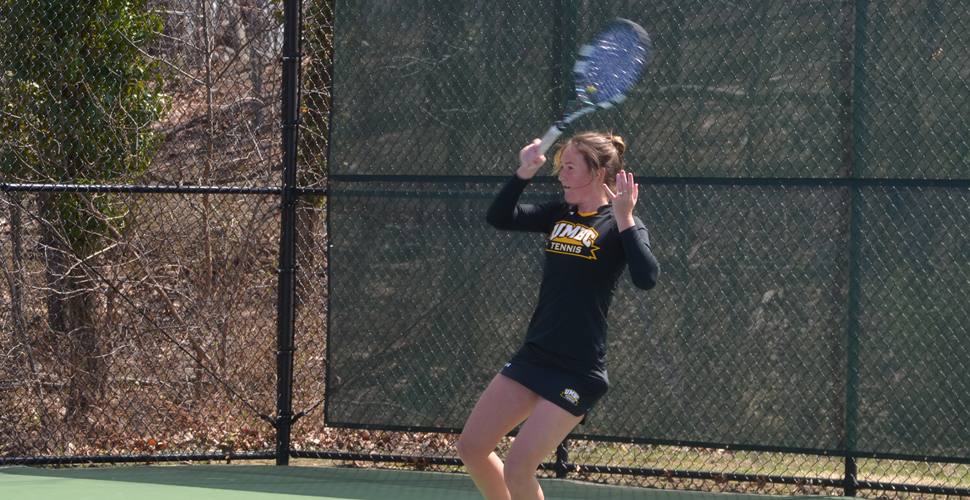 Women's Tennis Battles Top-Seeded SBU to End, But Falls, 4-2, in AE Semis