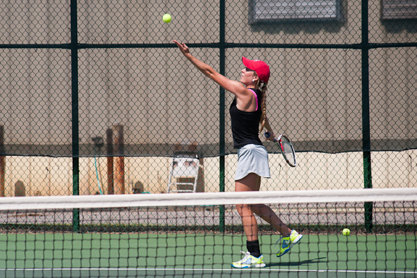 Huntingdon wraps up first day of USTA/ITA South Regional Championships