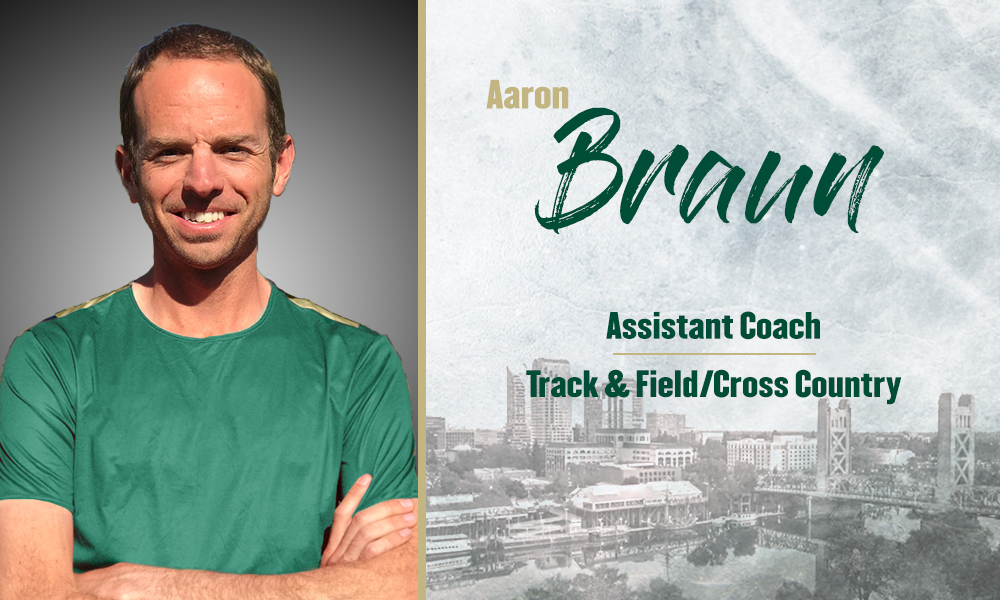 AARON BRAUN COMPLETES TRACK & FIELD COACHING STAFF