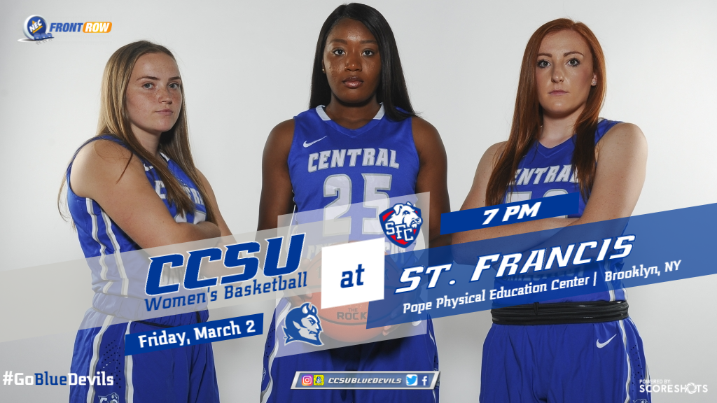 Women's Basketball Faces St. Francis Brooklyn on Friday Night
