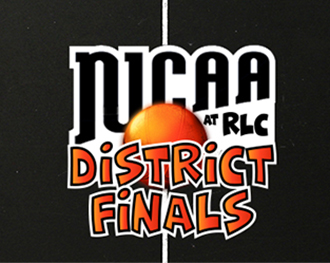 NJCAA District Finals at RLC graphic