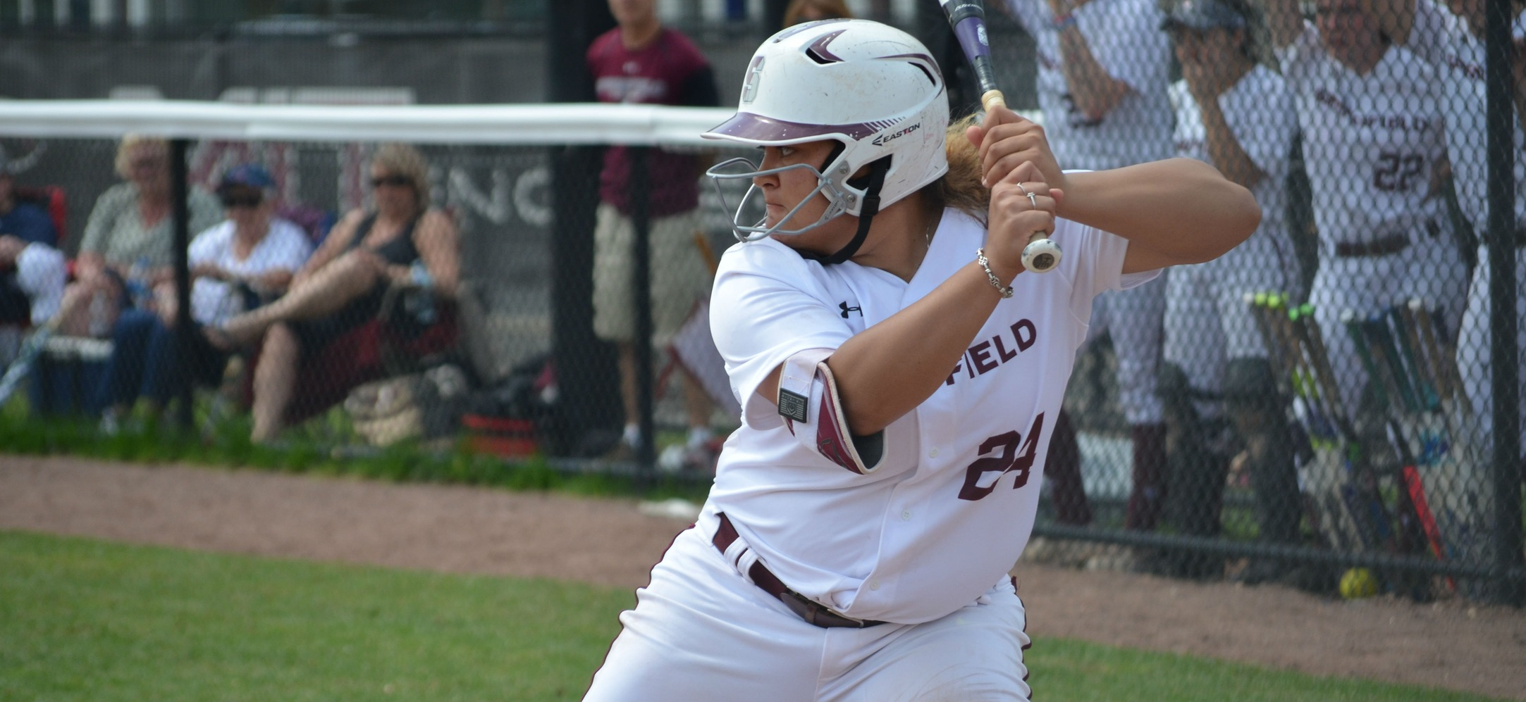 Softball Falls to WPI, 3-2, in NEWMAC Championship Tournament Elimination Game