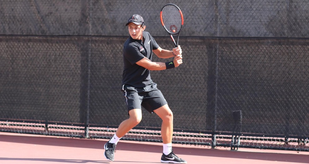 Men's Tennis at Saint Mary's on Tuesday