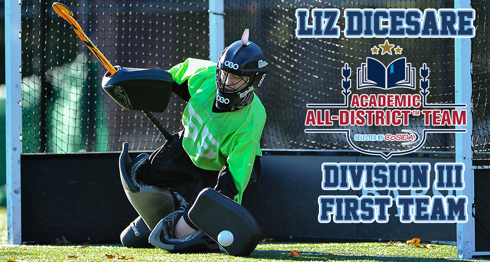 DiCesare Garners Second CoSIDA Academic All-District First Team Honor