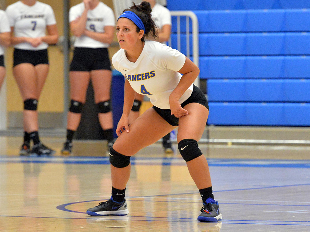 Women's Volleyball Sinks Anchorwomen