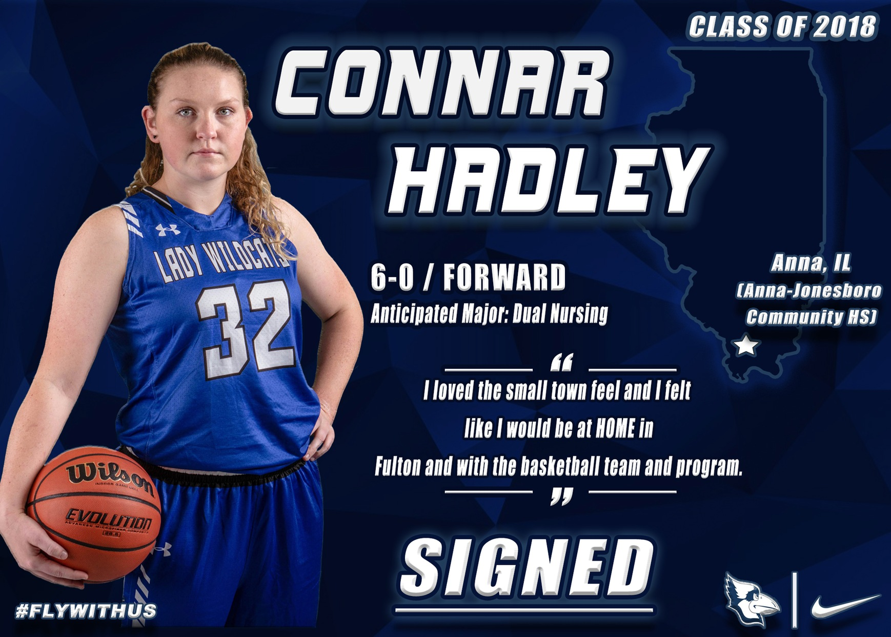 Westminster Women's Basketball Adds Hadley to 18-19 Roster