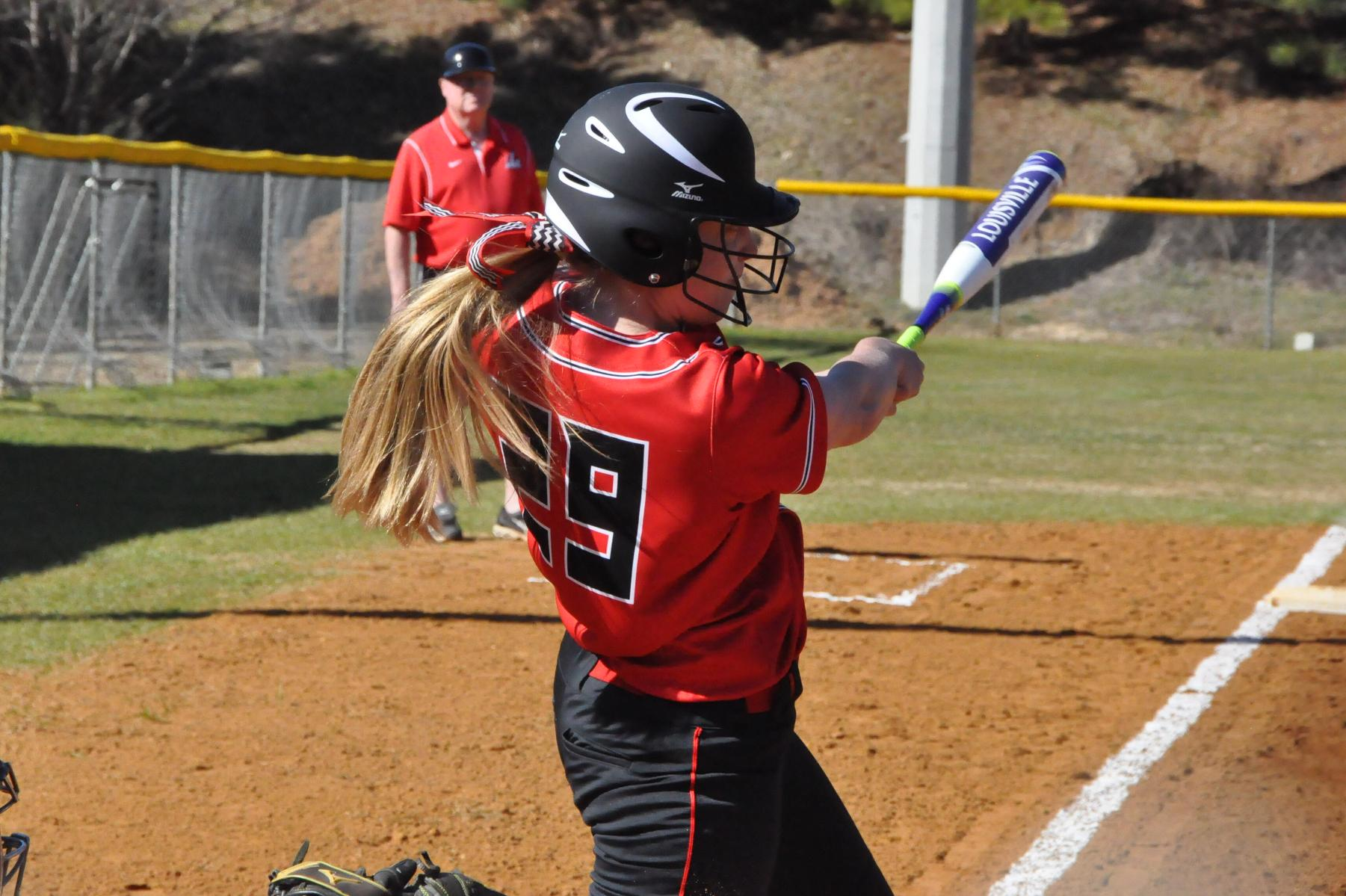 Softball: Panthers split season-opening doubleheader with Judson