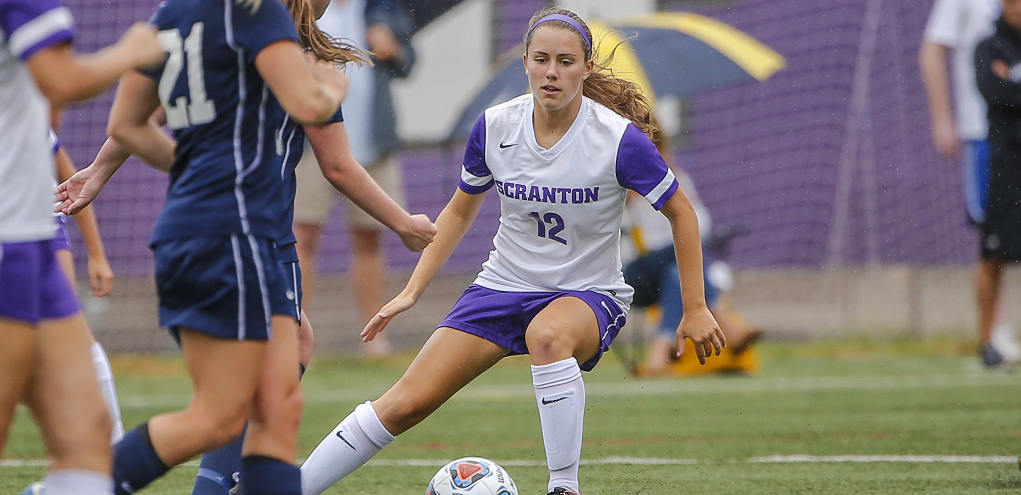 Sophomore Brittany Uricchio scored the match-winning goal late in the first overtime period on Tuesday night.