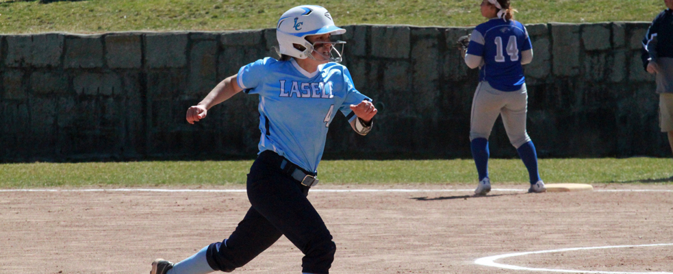 Albertus Takes Two from Softball