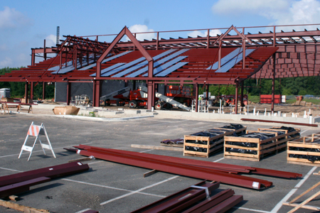 Hockey Construction Update: August 5, 2011