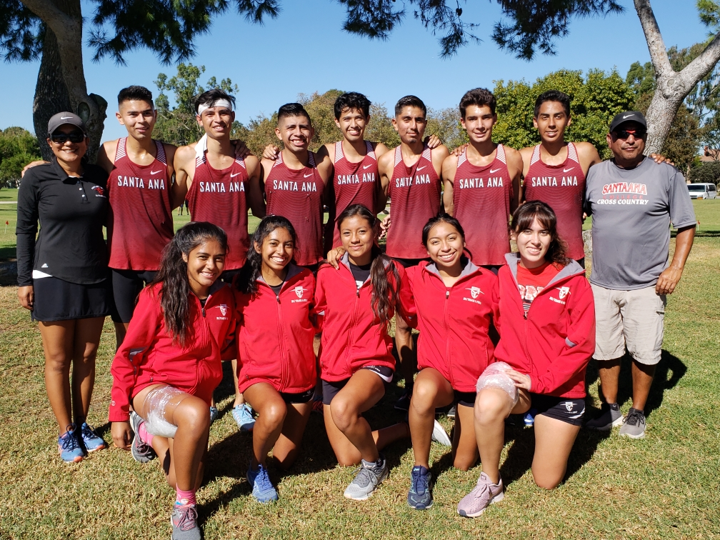 Santa Ana Cross Country Qualifies for State Championships