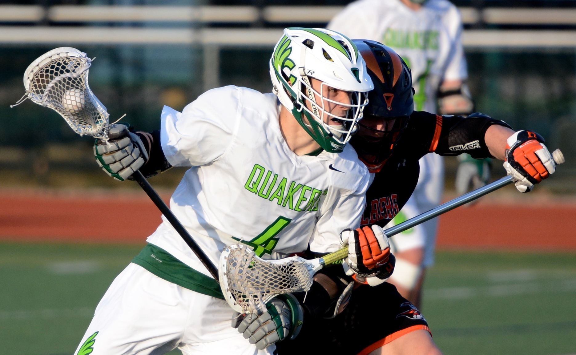 Lang's Two Goals Not Enough in Men's Lacrosse's 28-4 Loss to Capital