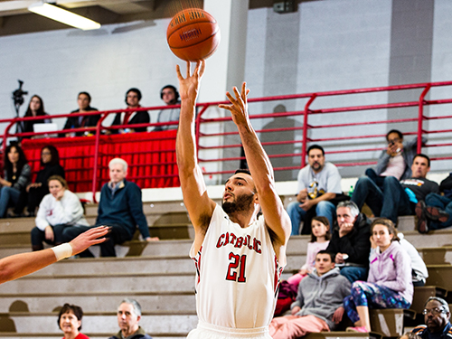 CUA Knocks Down 18 Triples as the Cardinals Shoot Past Etown, 101-67