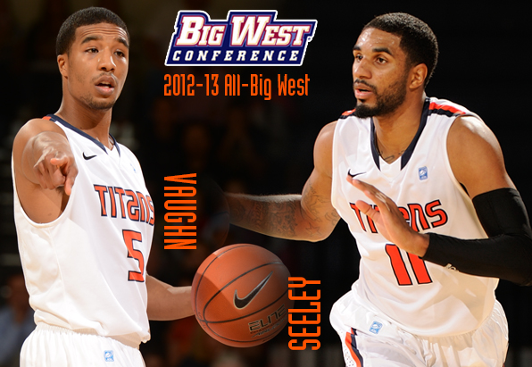 Seniors Vaughn, Seeley Named All-Big West Second Team