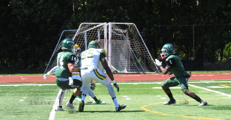 Green Defeats White in Spring Game