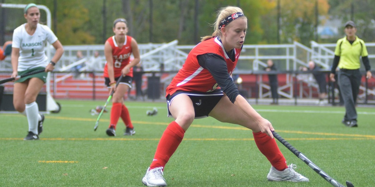 Babson Downs Field Hockey in NEWMAC Action