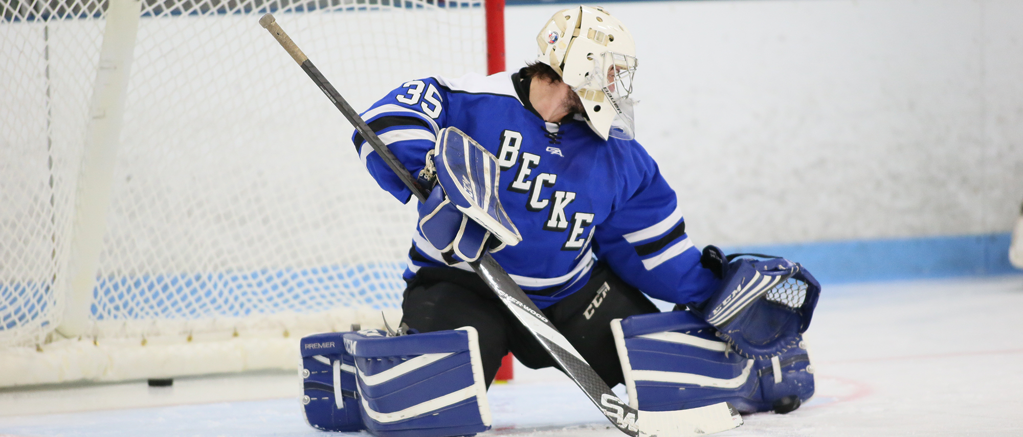 Grant Martens, men's ice hockey goaltender