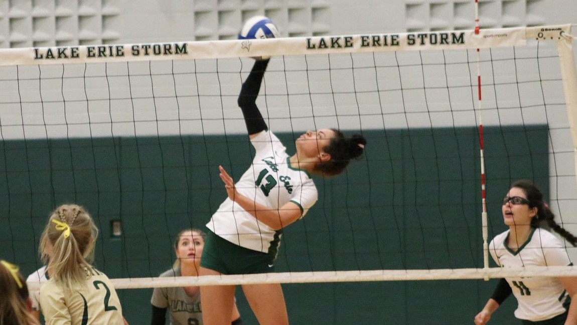 Volleyball Staves Off Malone In Five Set Thriller