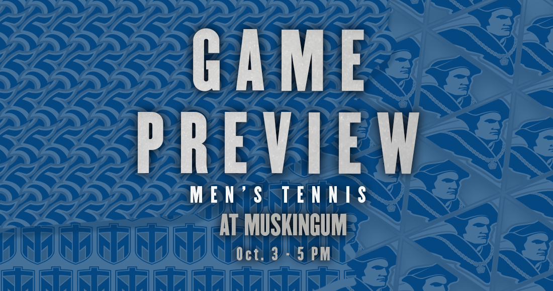 Men's Tennis Heads to Muskingum