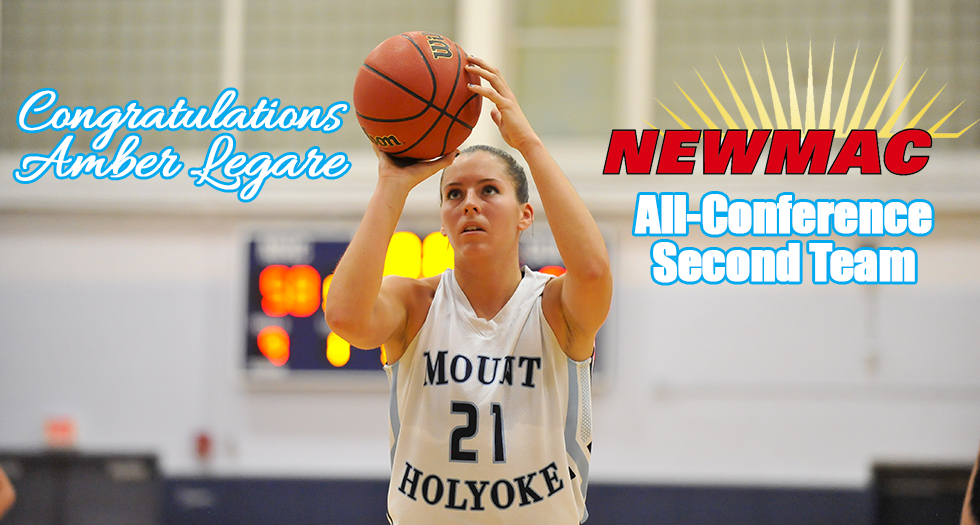 Amber Legare Named to NEWMAC All-Conference Second Team