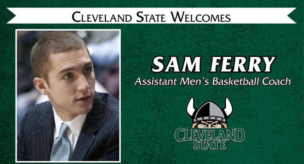 Sam Ferry Named Assistant Men's Basketball Coach at CSU