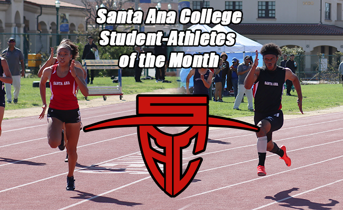 SAC Sprinters Take Student-Athletes of the Month Honors in March