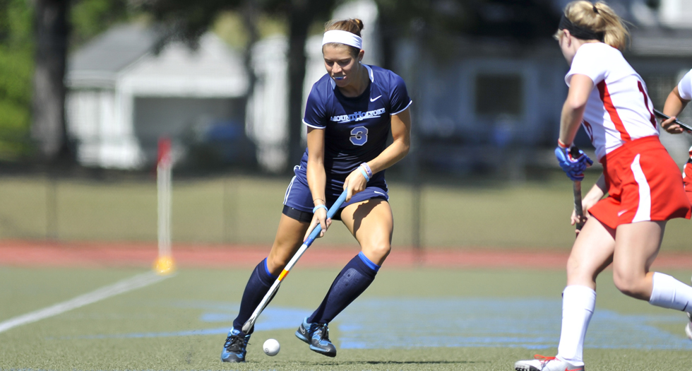 #20 Field Hockey Edged by #15 Amherst, 4-3
