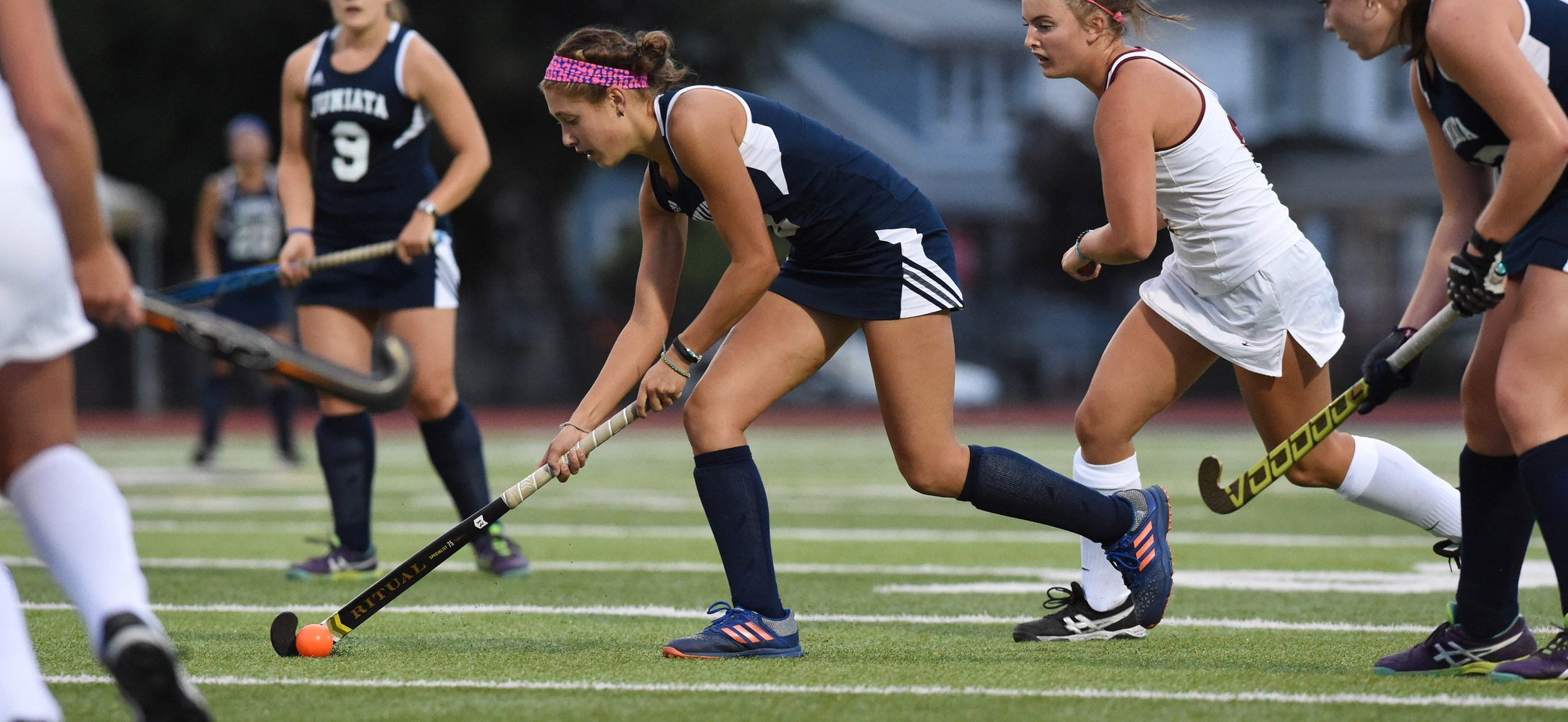 Grace Alexander scored the Eagles lone goal in a 5-1 loss against TCNJ.