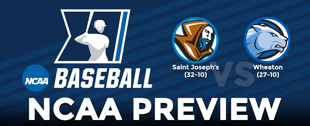 NCAA TOURNAMENT PREVIEW: Saint Joseph's vs. Wheaton
