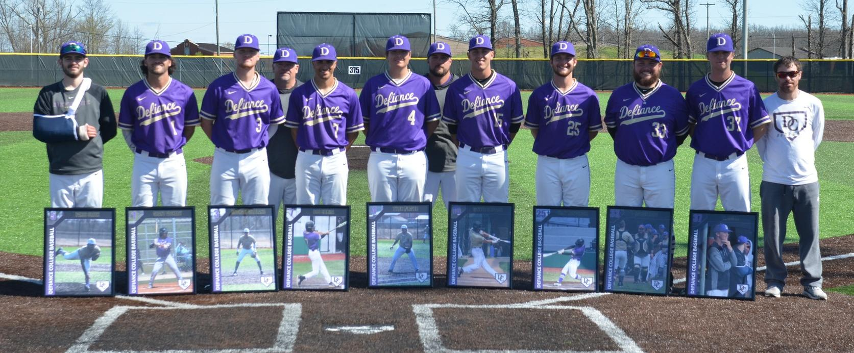 Baseball Spends Senior Sunday Pitted in HCAC Action