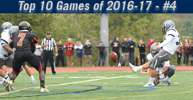 Top 10 Games of 2016-17 - #4 Football Rallies for 33-32 Win at Ursinus