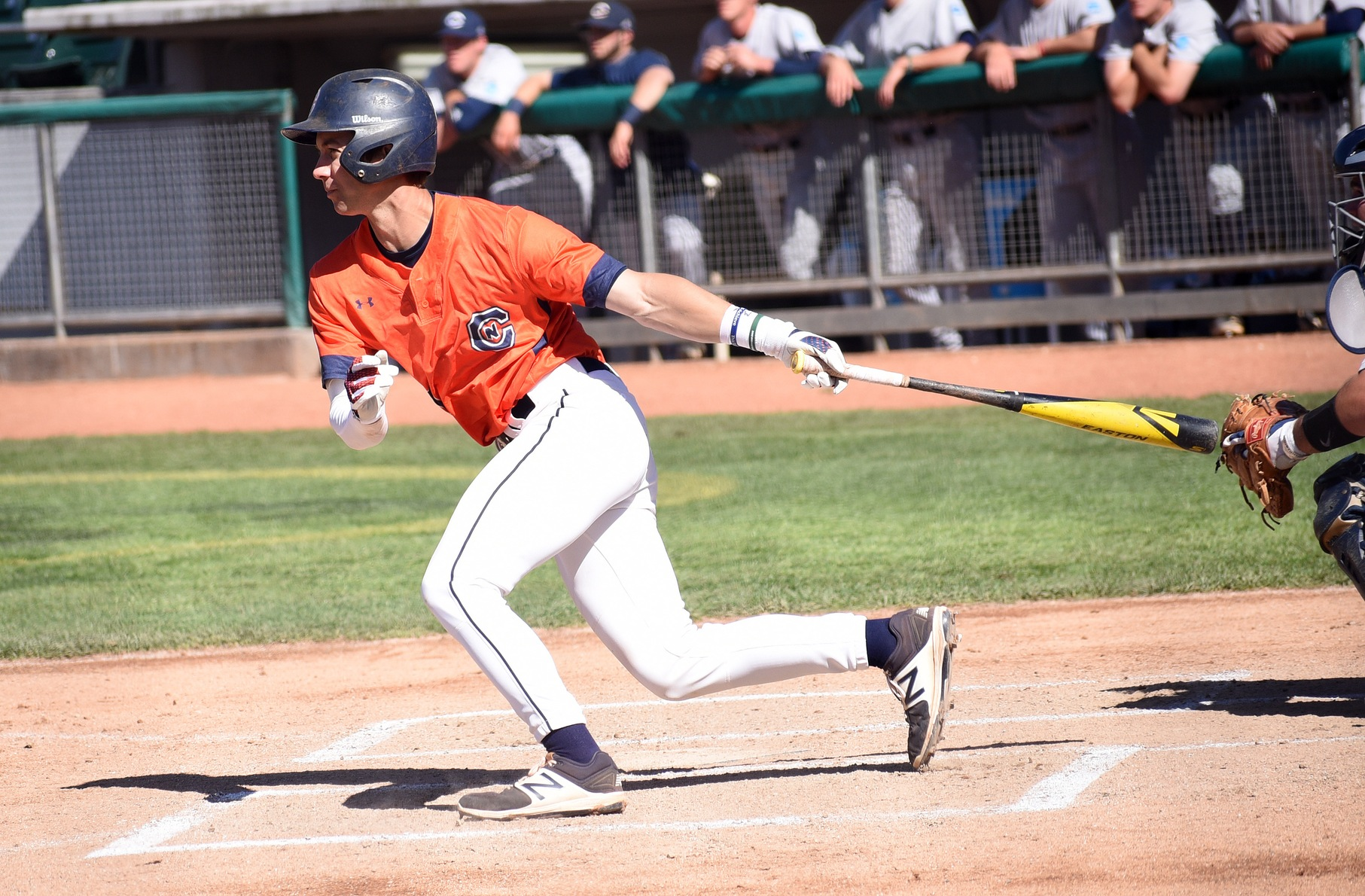 Orange's lineup excels in 9-6 win over Blue in game one