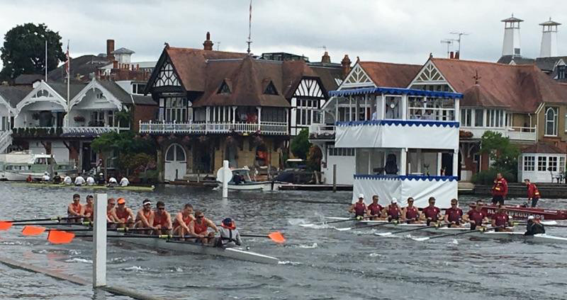 Men's Rowing Moves on at Henley Royal Regatta